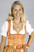 Wiesndirndl (orange)