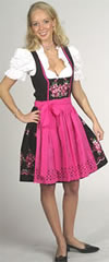 Trendiges Mini-Dirndl